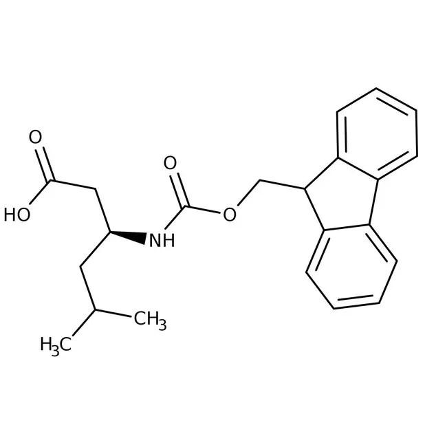 Alfa Aesar™ N-Fmoc-L-beta-homoleucine, 95%