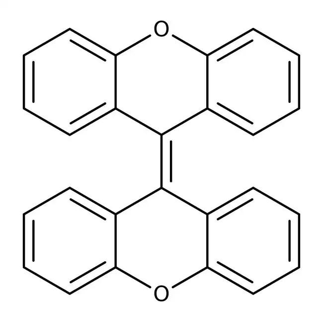 Alfa Aesar™ 9,9'-Dixanthylidene, 98% 1g Alfa Aesar™ 9,9