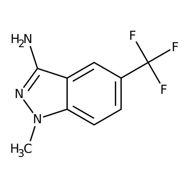 3-Amino-1-methyl-5-(trifluoromethyl)-1H-indazole, 95%