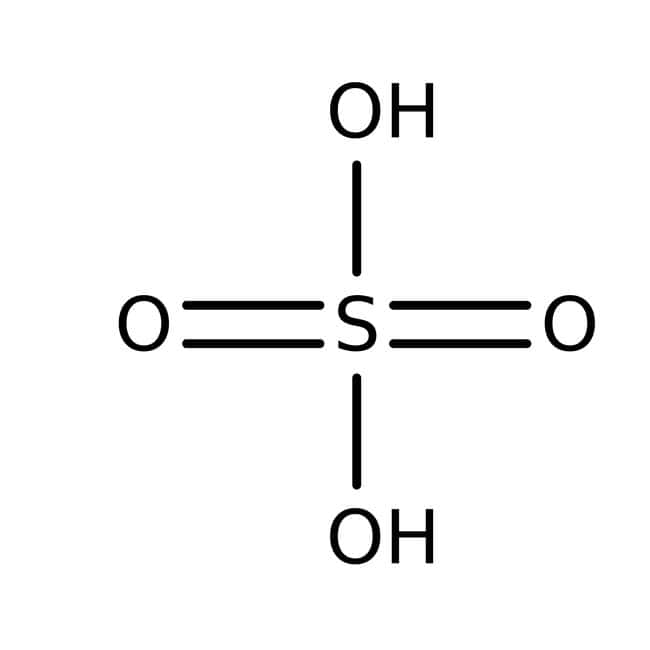 Sulfuric Acid, 96% Solution in Water, Extra Pure, ACROS