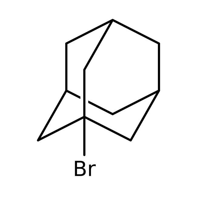 1-Bromoadamantane, 99%, ACROS Organics™ 25g; Glass bottle
