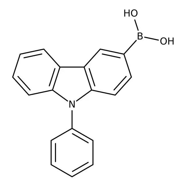 Alfa Aesar™ 9-Phenylcarbazole-3-boronic acid, 98%