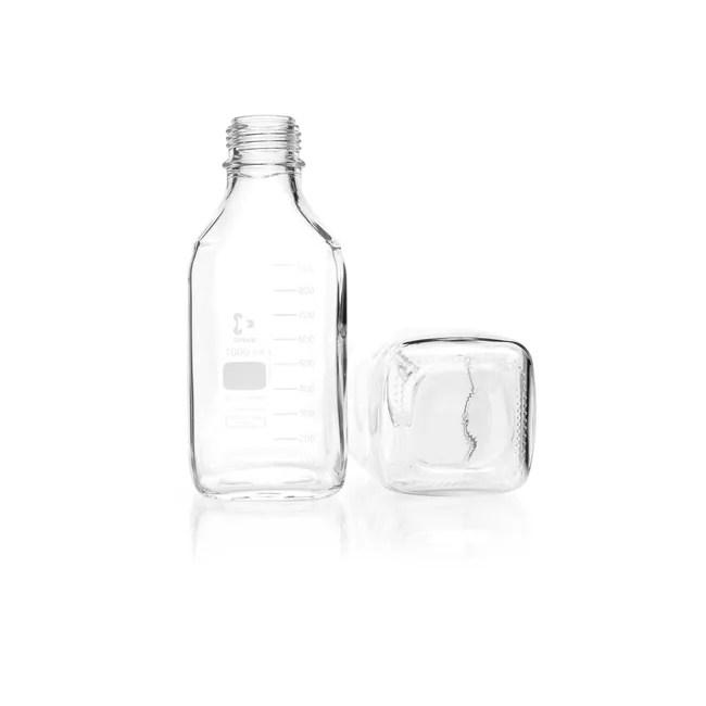 DWK Life Sciences DURAN™ Laboratory Bottle, Square, Clear