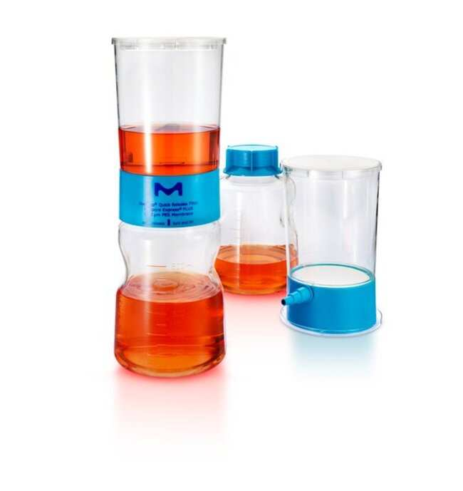 MilliporeSigma™ Stericup Quick Release-GP Sterile Vacuum Filtration System   Fisher Scientific