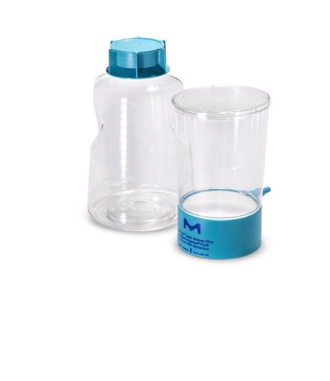 Merck™ Stericup Quick Release-GP steriles Vakuumfiltrationssystem: Flaschenaufsatzfilter Filtration   Fisher Scientific