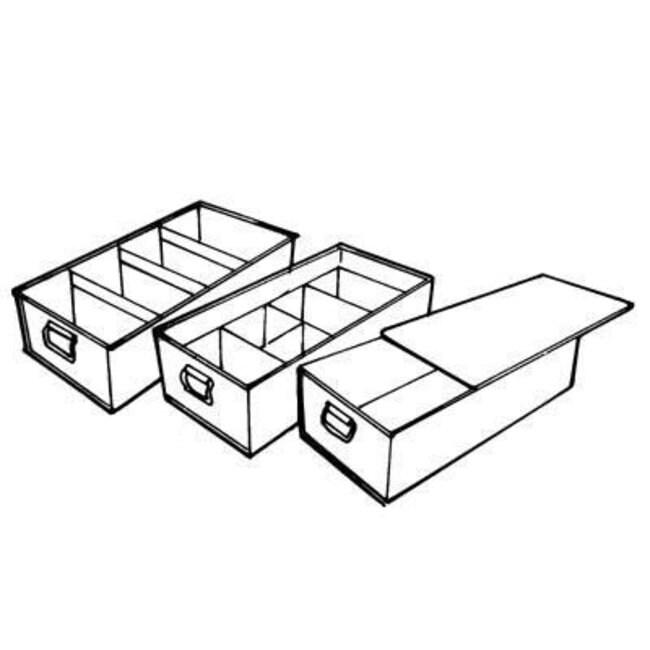 Key Industrial Equipment™ Slide on lids for Tote pan
