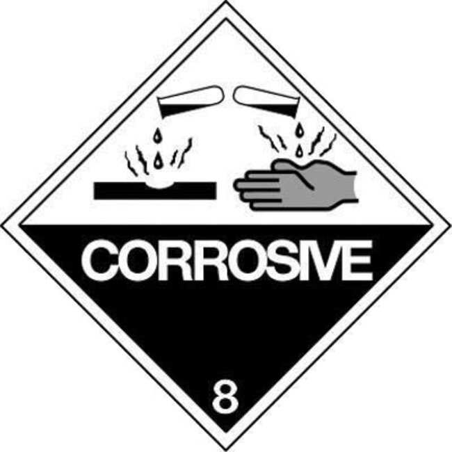 Key Industrial Equipment™ Class 8 corrosive IATA/ICAO