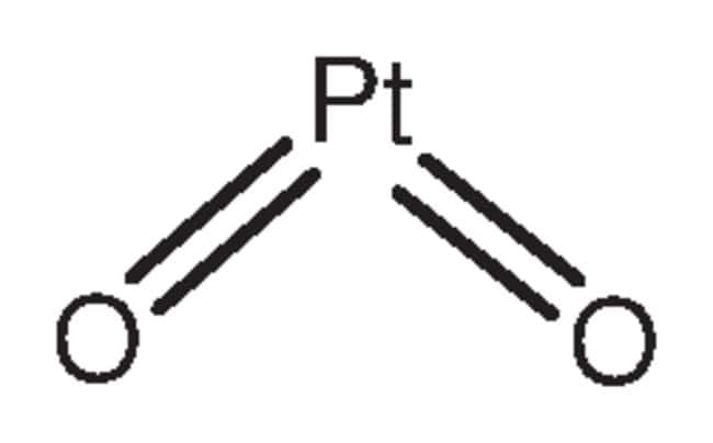 Platinum(IV) oxide monohydrate, 99.9%, (trace metal basis