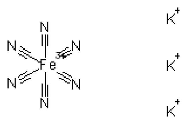 Potassium ferricyanide, 99+%, for analysis, ACROS Organics