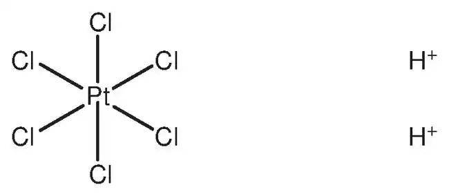 hydrogen hexachloroplatinate(IV) hydrate, ACS reagent
