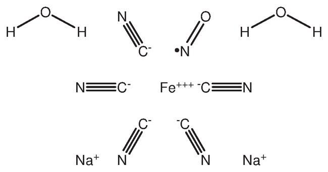 Sodium nitroferricyanide dihydrate, reagent ACS, ACROS