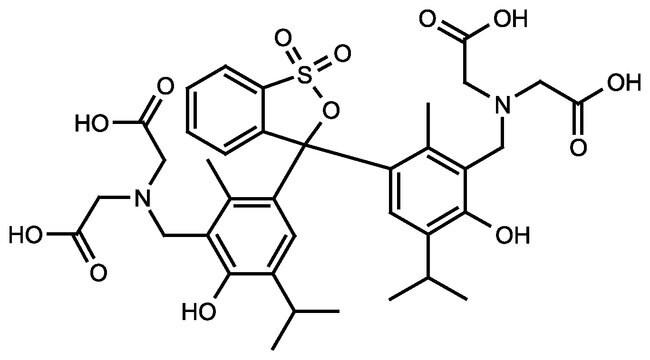 Methylthymol blue, sodium salt , indicator grade , ACROS