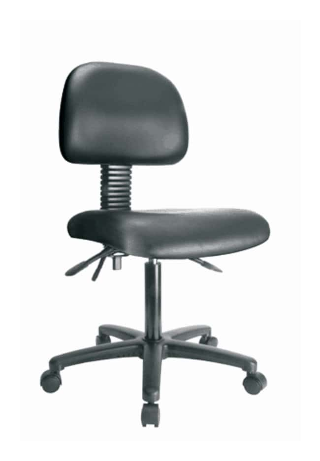 ergonomic chair without arms intex ultra lounge and ottoman fisherbrand low form vinyl desk no tilt black furniture