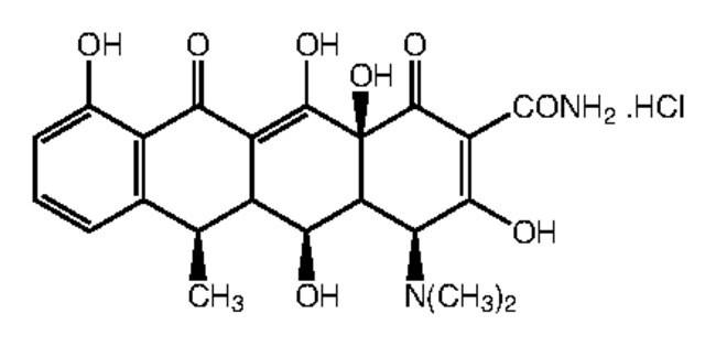Doxycycline hydrochloride Alfa Aesar™ 5g Doxycycline