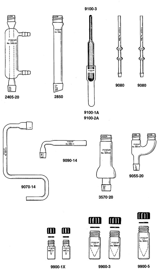 PYREX Microchemistry Kits:Beakers, Bottles, Cylinders and