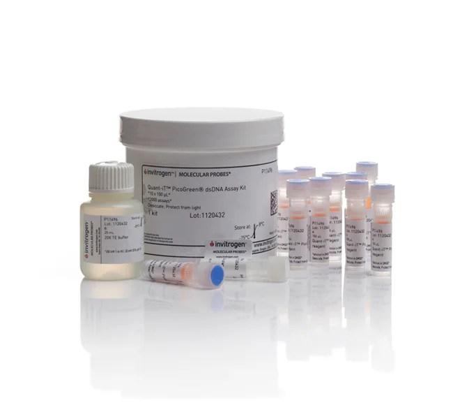 Invitrogen™ Quant-iT™ PicoGreen™ dsDNA Assay Kit 10 x 100uL kit Invitrogen™ Quant-iT™ PicoGreen™ dsDNA Assay Kit | Fisher Scientific