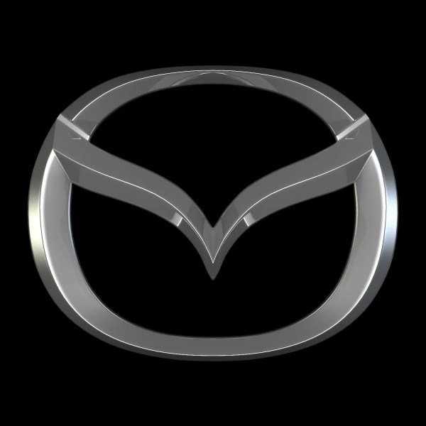Mazda Logo 3d Model Flatpyramid