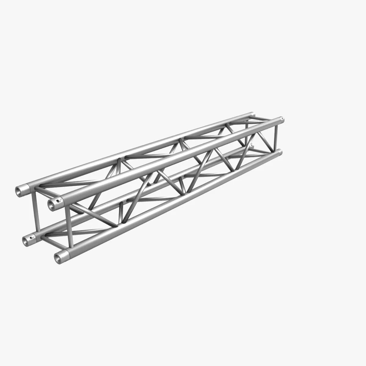 Square Truss Standard 004 3d Model Objects Set, 3ds max