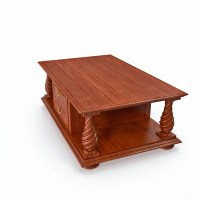 Coffee table with drawers 3D Model | FlatPyramid