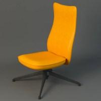 Pilot Chair knoll 3D Model | FlatPyramid