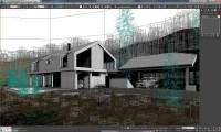 Vray Exterior Lighting Daylight Settings Scene 3D Model ...