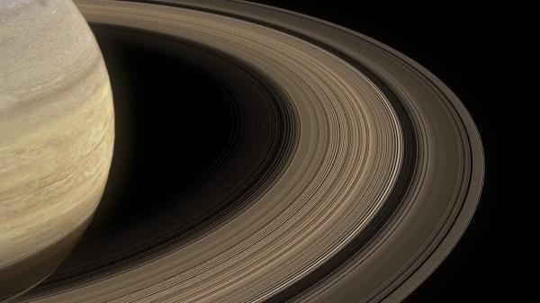 Saturn Aurora Texture - Year of Clean Water