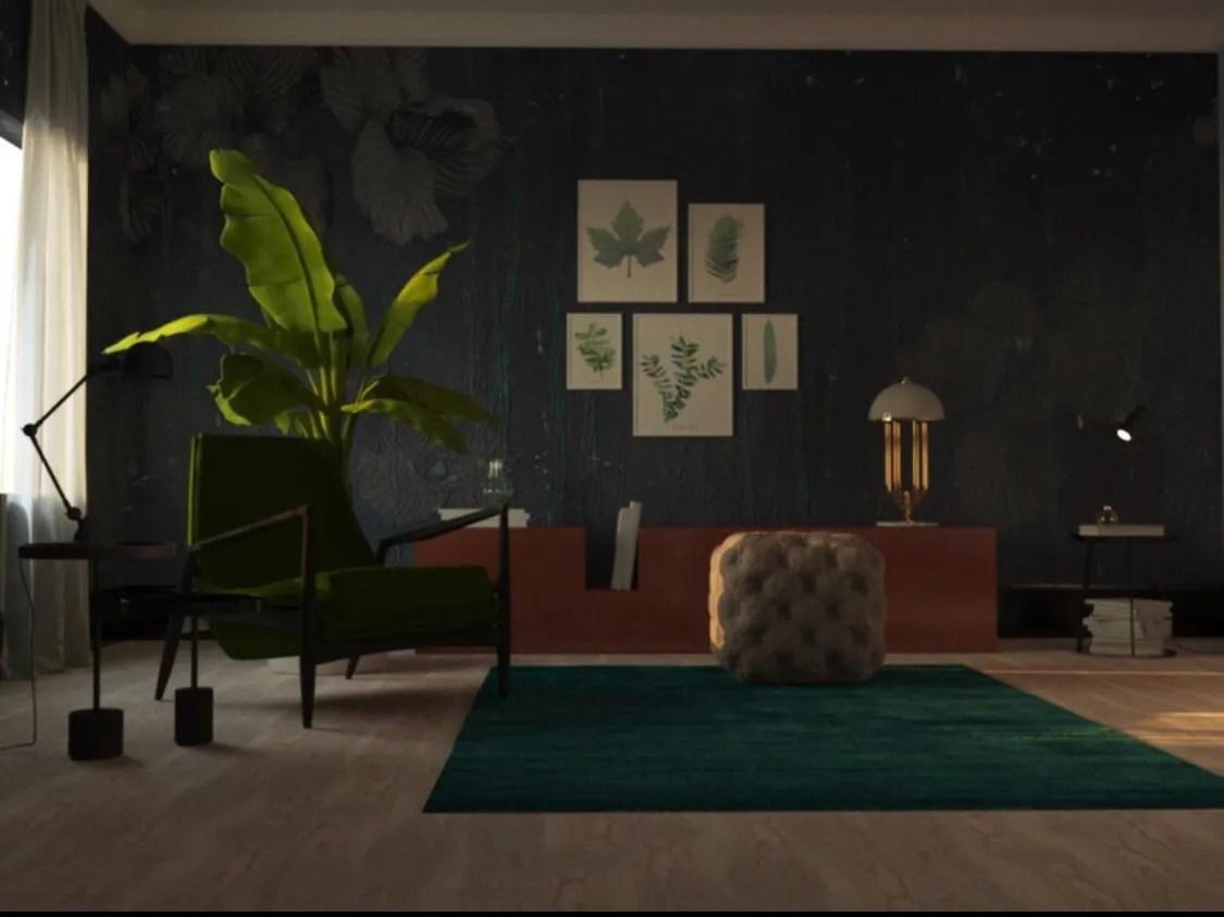Living Room 3d Model Flatpyramid