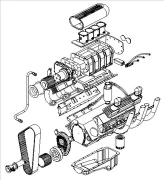 Twin Turbo V8 Twin Turbochargers Wiring Diagram ~ Odicis