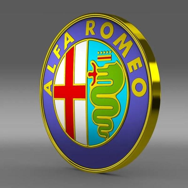 Alfa Romeo Logo - Flatpyramid