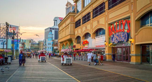 Atlantic City Famous Boardwalk Review  New Jersey Shore