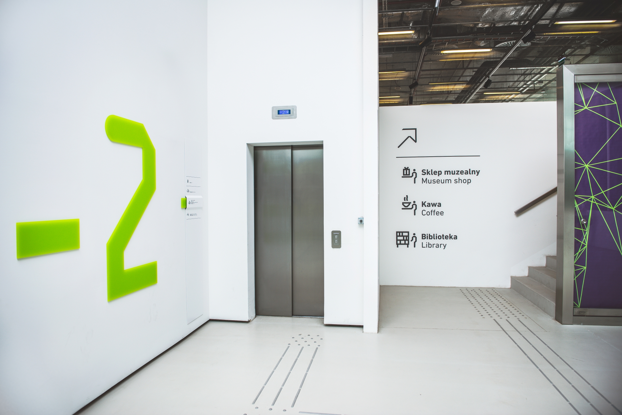 Wayfinding System In Silesian Museum - Fonts