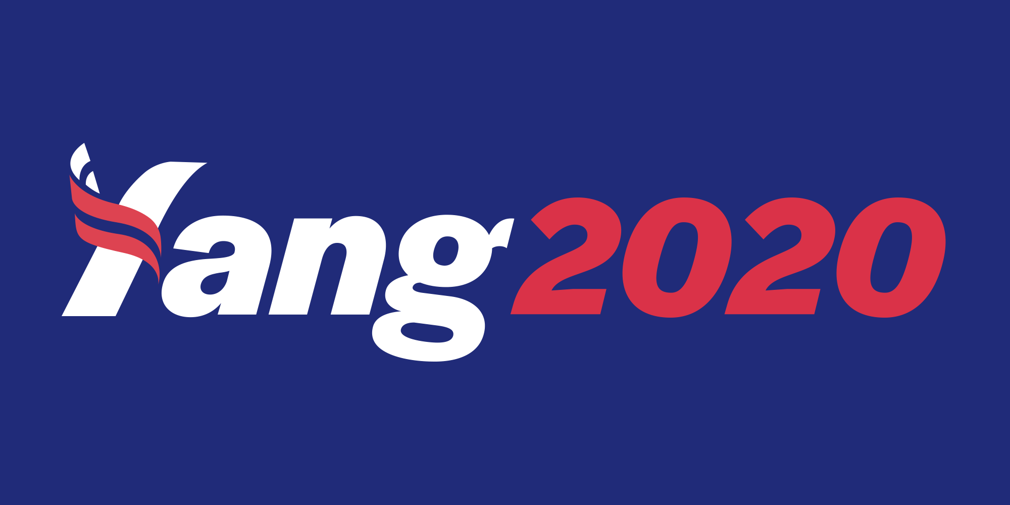 Yang 2020 Presidential Campaign - Fonts In