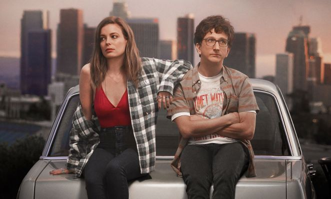 Gillian Jacobs and Paul Rust in 'Love'