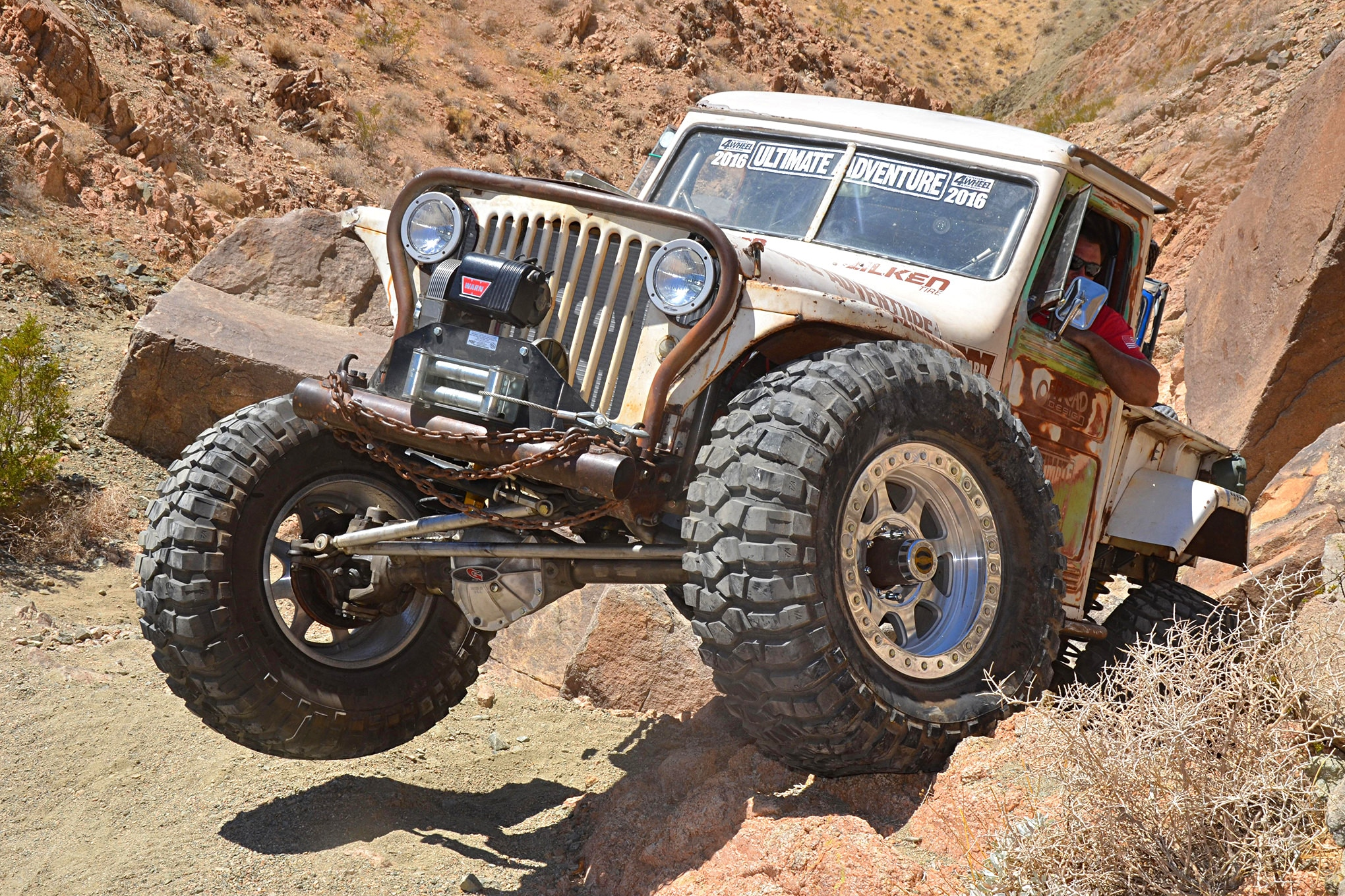 medium resolution of verne loses sleep thrashes on a 1949 willys pickup for ultimate adventure 2016 ua2016