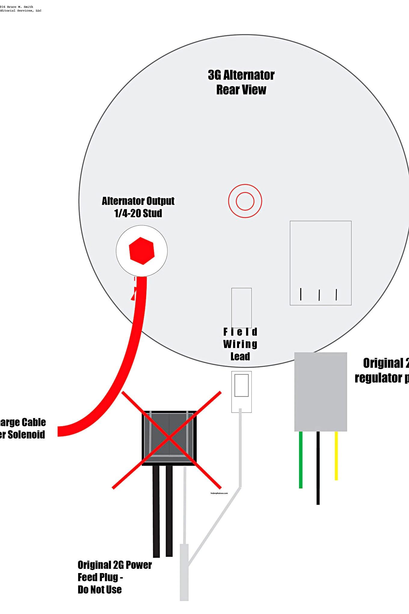 hight resolution of a mustang 3g alternator wiring diagram