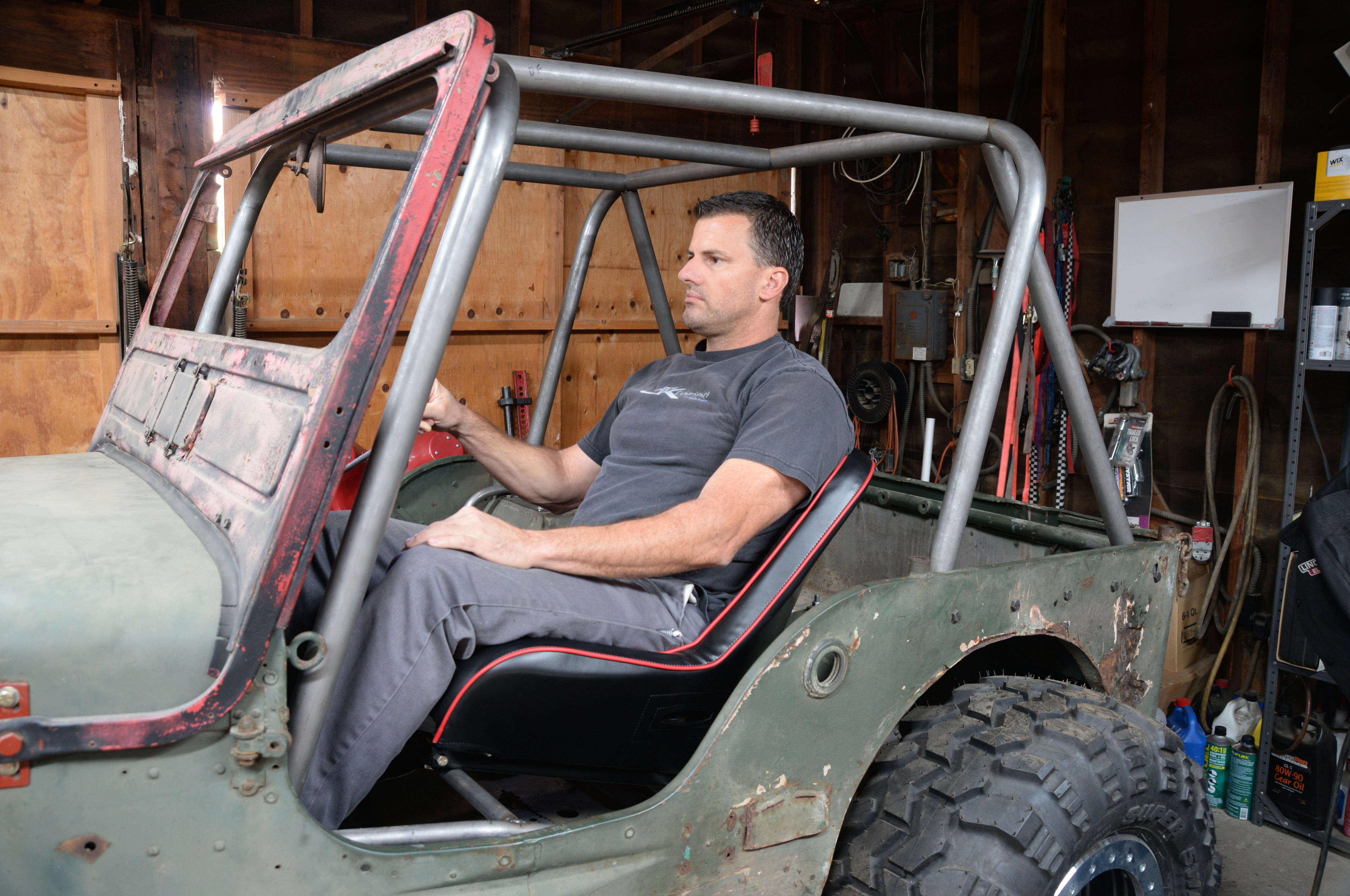 small resolution of  prp seat lowback low back jeep john cappa flatfender cj gpw mb willys rollcage interior cage