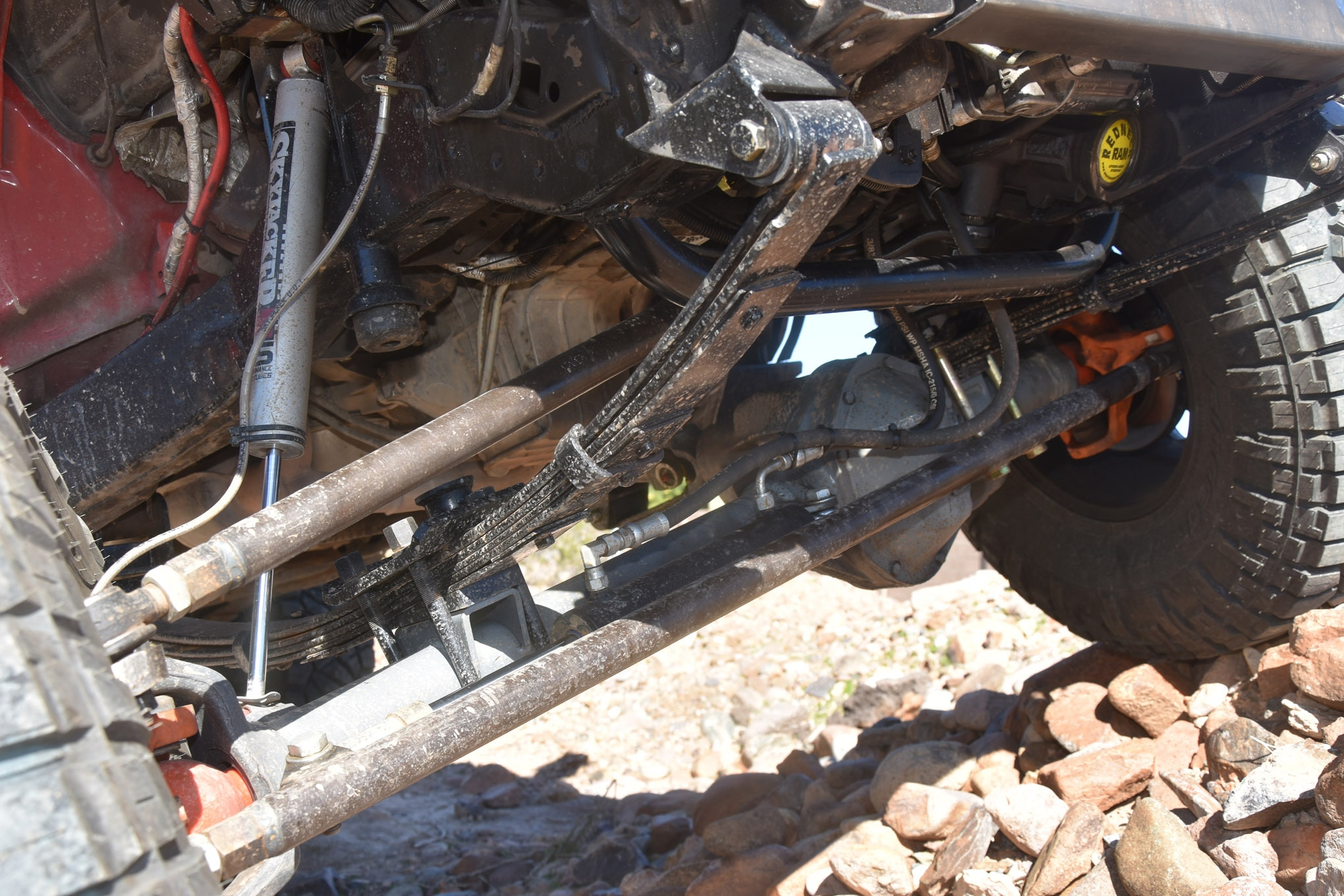 small resolution of 010 sten solid axle swap steering detail 2001 chevy s10 blazer sas