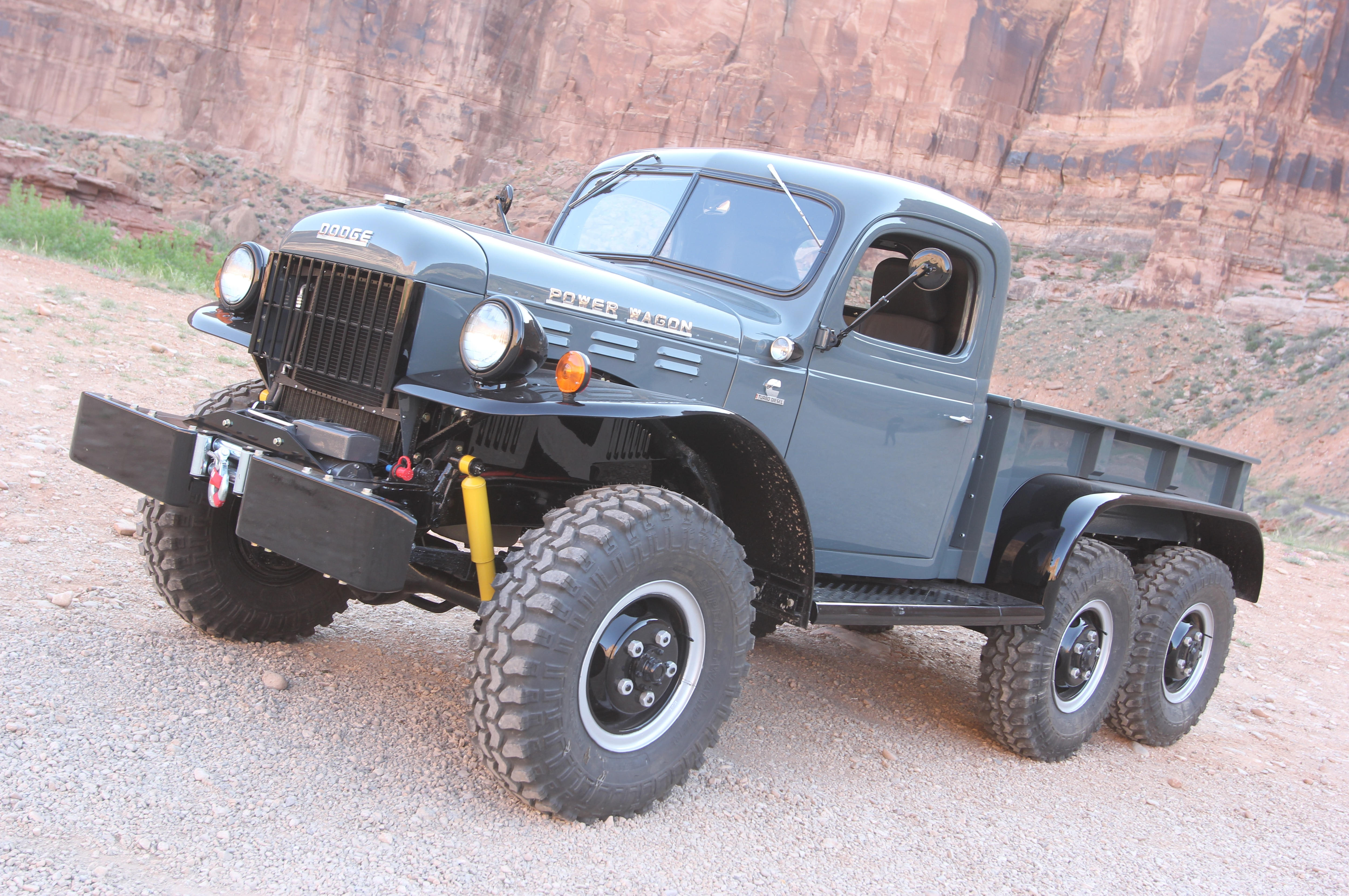 sickx6 is this cummins 1942 dodge power wagon the coolest six wheeler ever  [ 5000 x 3320 Pixel ]