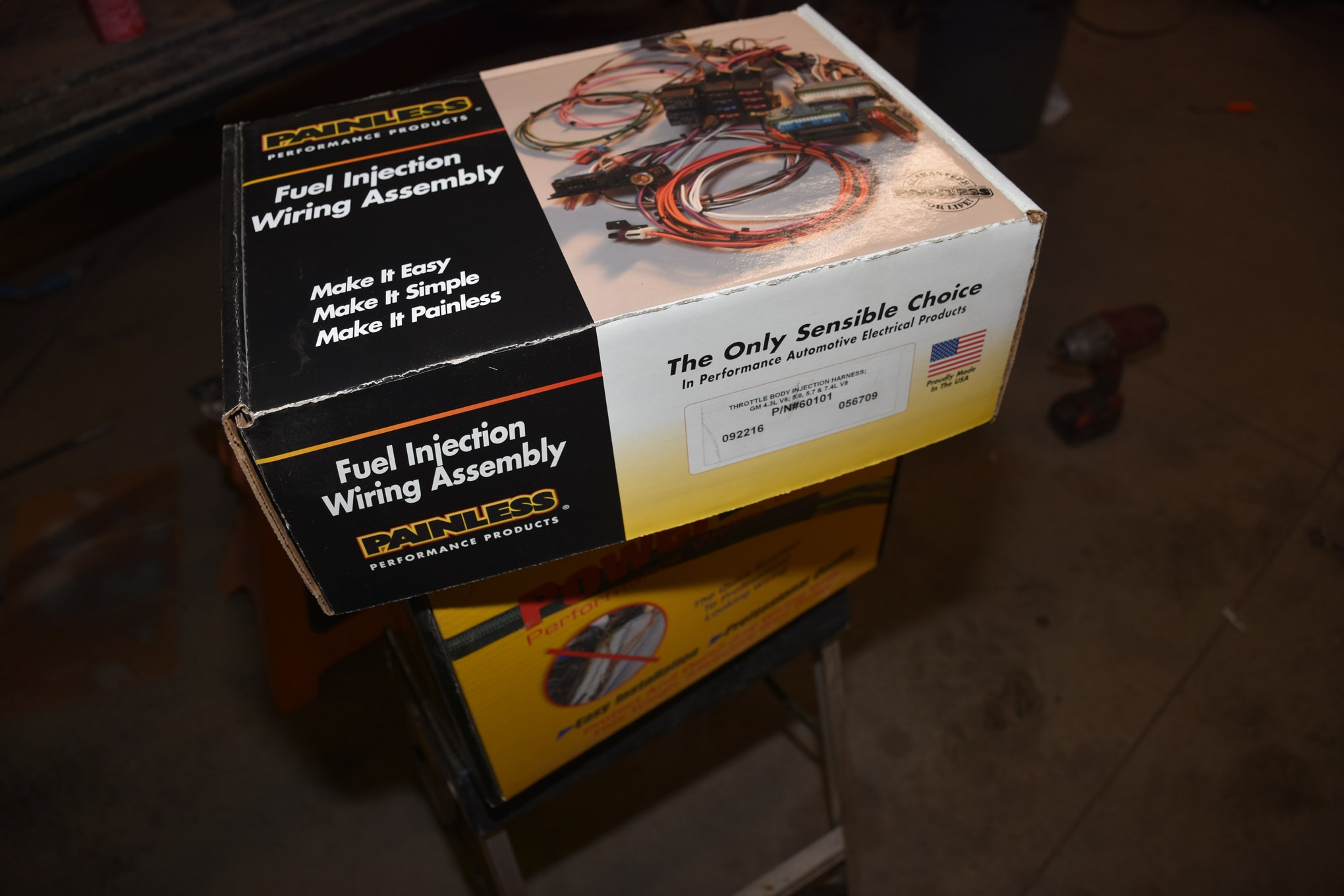 small resolution of junkyard fuel injection conversion tbi fuel injection wiring harness painless 60101 gm