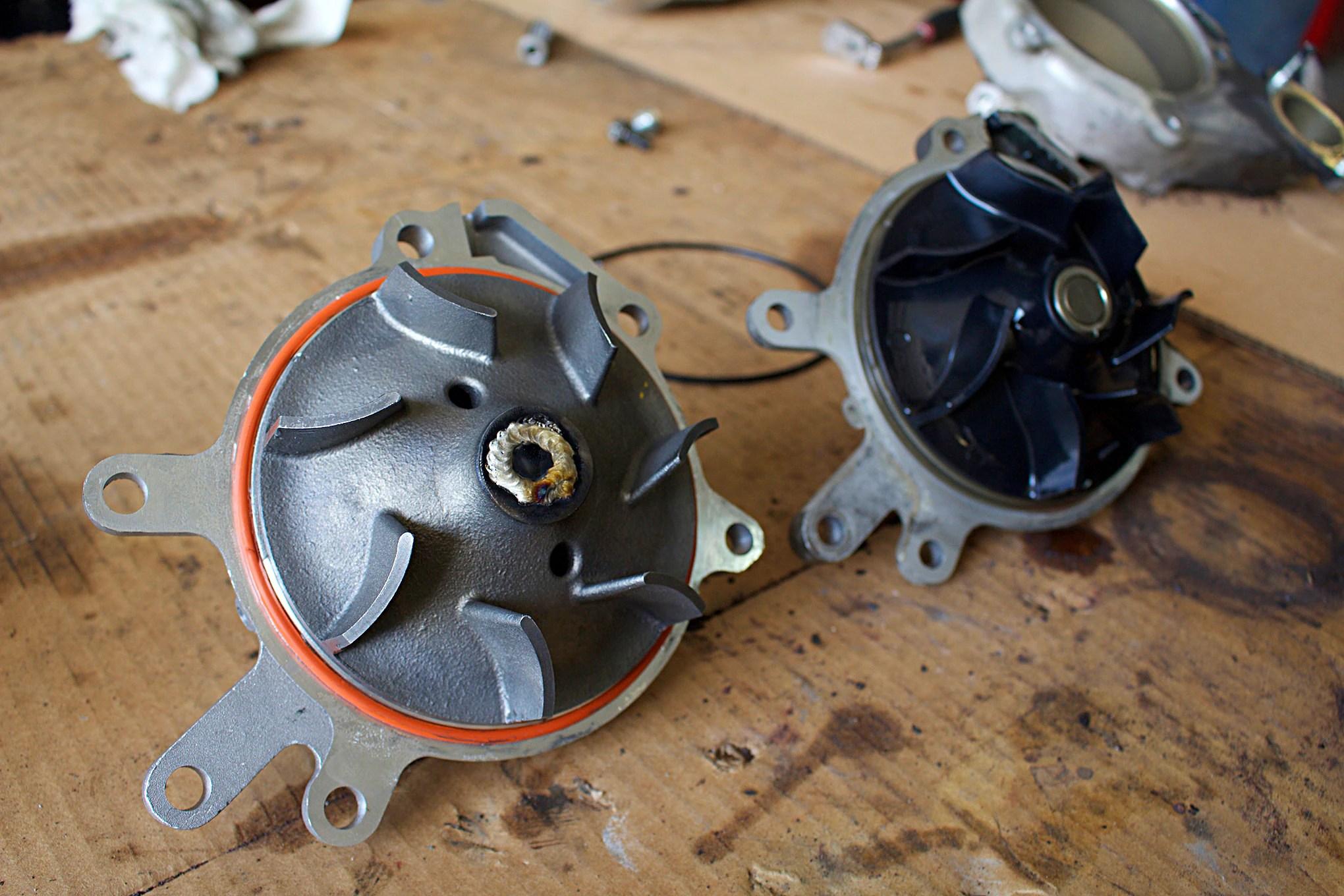 10 half dayin it duramax water pump comparison  [ 2040 x 1360 Pixel ]