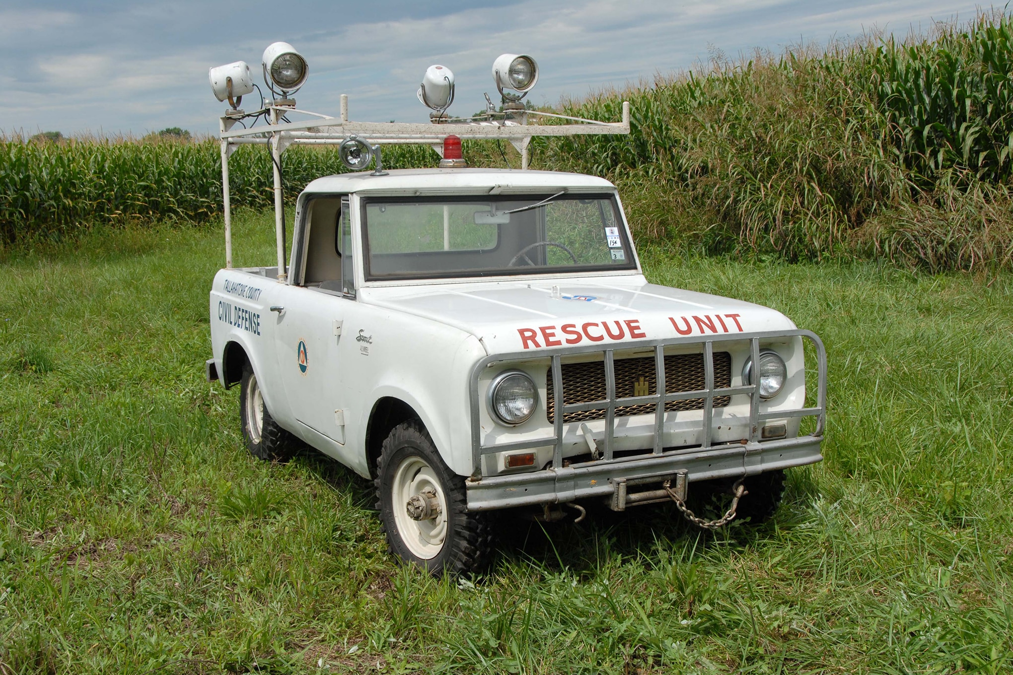 hight resolution of 1963 scout 80 cab top scouting civil defense