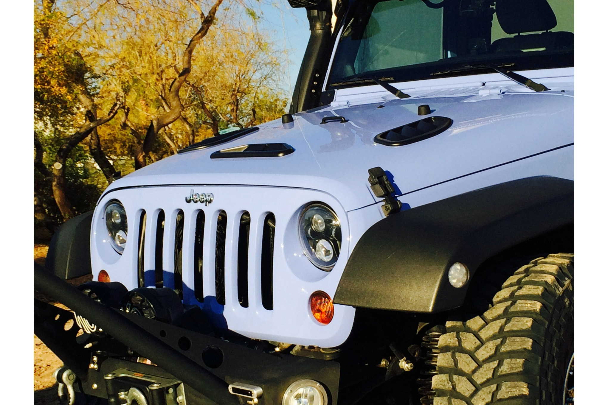 new products daystar jeep wrangler jk hood vents cutouts overheat hot engine [ 2040 x 1360 Pixel ]