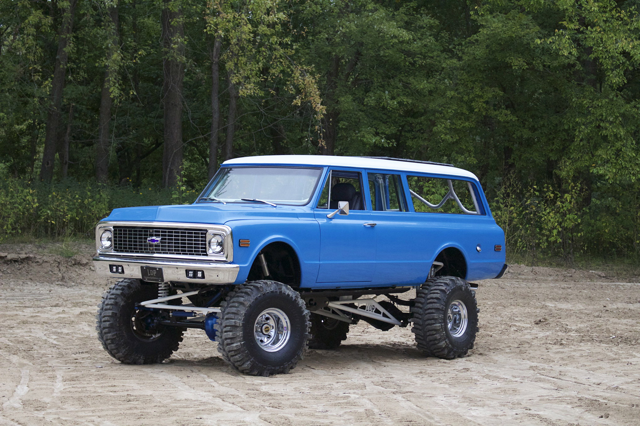 medium resolution of party barge a duramax powered 1972 suburban with seating for 12