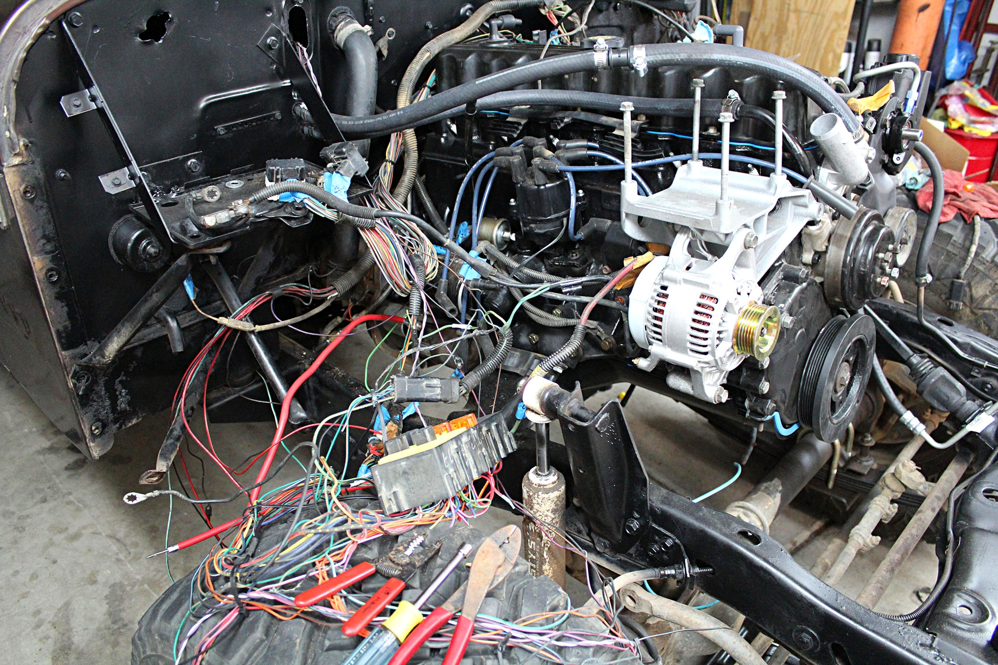 small resolution of jeep cj v8 swap wiring blog diagram schema jeep cj v8 swap wiring
