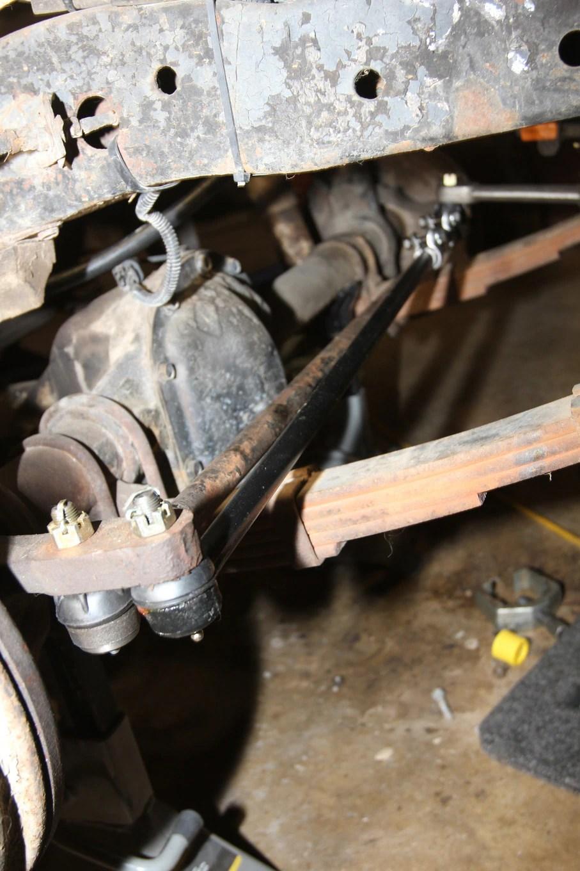 medium resolution of  16 1973 jeep cj5 powersteering tie rods and steering knuckle