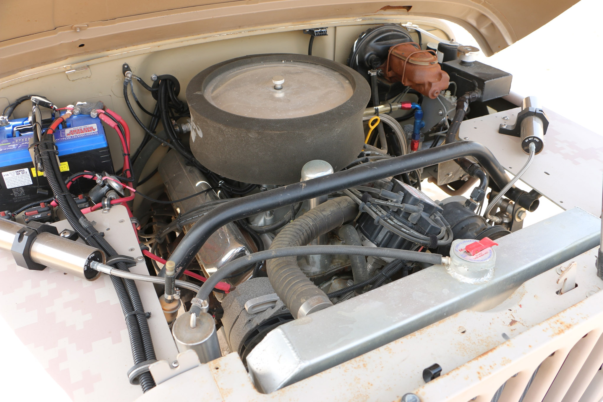 small resolution of  the amc 304 v 8 benefits from a custom tuned ecm and custom wiring