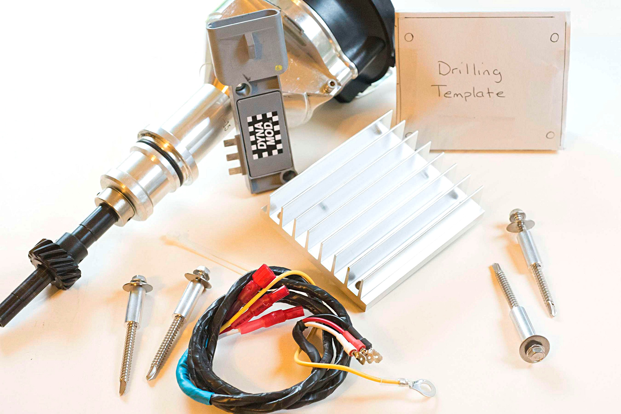 medium resolution of mccully racing motor s tfi relocation kit comes with a 3 foot shielded wiring harness heat sink