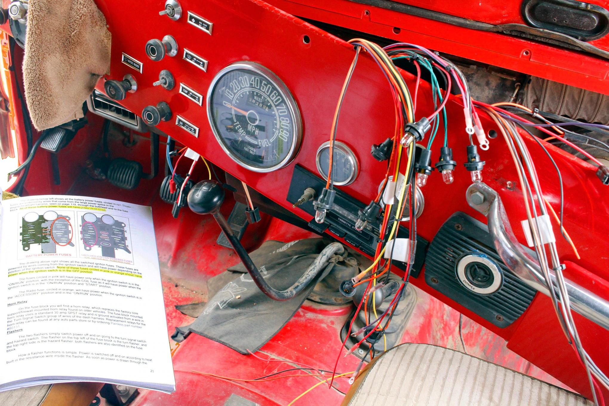 cj wiring harness image restore wiring diagram cj wiring harness image restore [ 2040 x 1360 Pixel ]