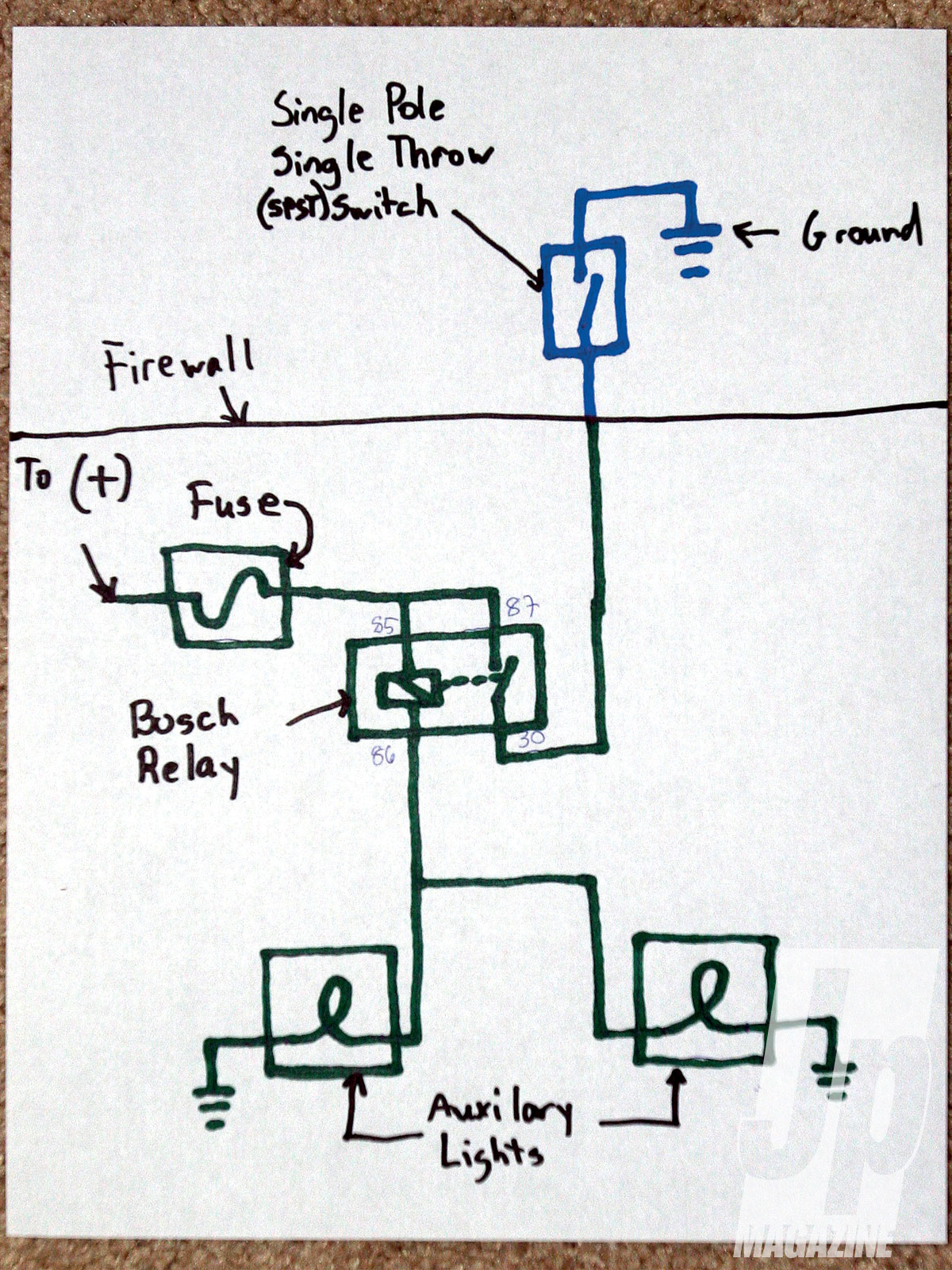 diagram for the eagle eye wiring harness pn 320d here is another way to do it and this is one of my preferred methods  [ 1200 x 1600 Pixel ]