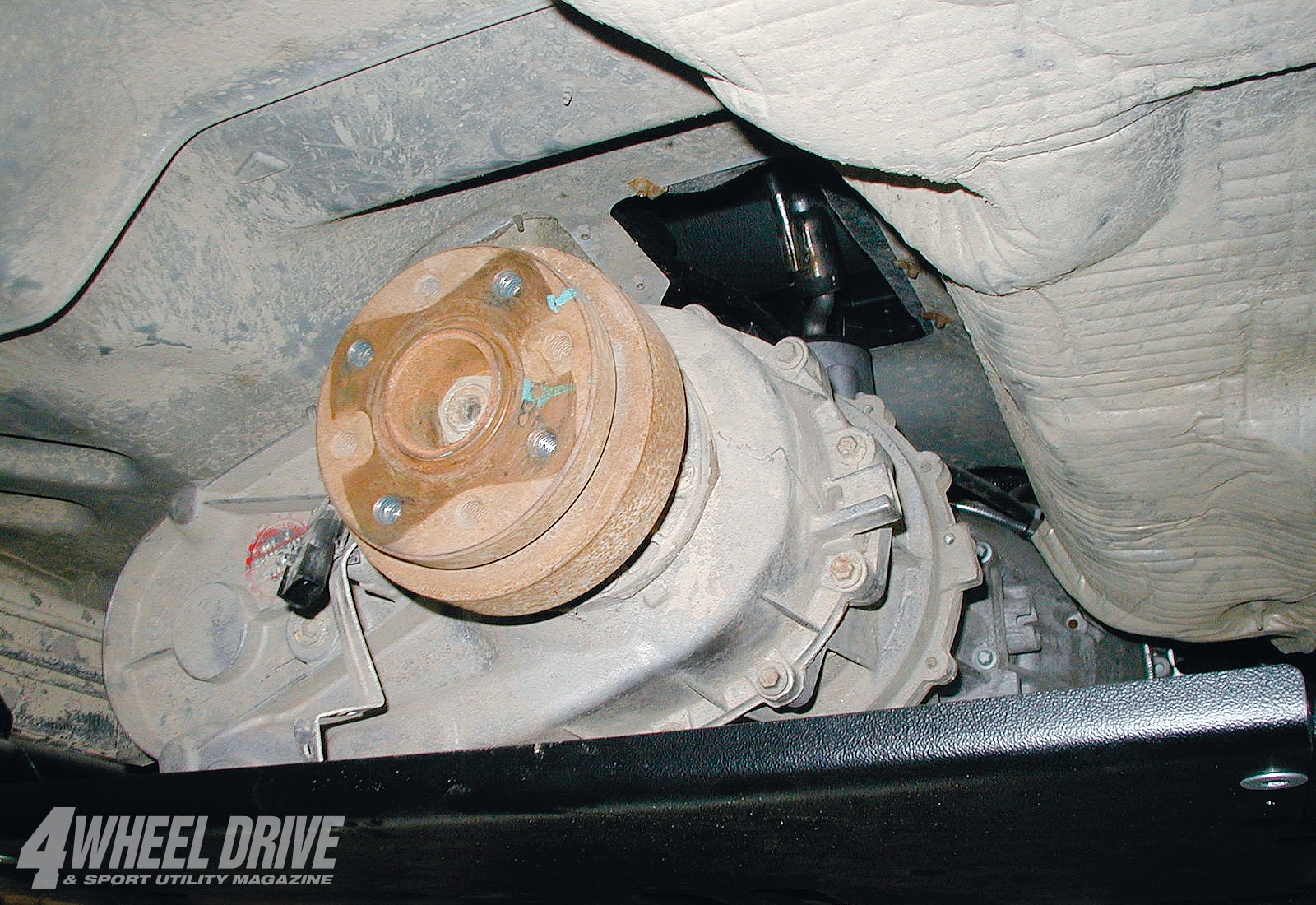 small resolution of the rock trac transfer case from the original tj rubicon unlimited was reinstalled